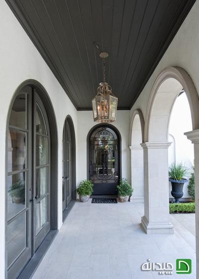 معماری سنتی, قوس, طاق, سقف کاذب, اپن آشچزخانه, اپن آشپزخانه, آرک | ceiling-decor-blog | دکوراسیون ساختمان دکوروز