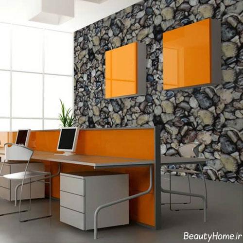 مدل کاغذ دیواری, کاغذ دیواری جدید, کاغذ دیواری اداری, کاغذ دیواری, عکس کاغذ دیواری, طرح کاغذ دیواری, رنگ کاغذ دیواری, دکوراسیون اداری, انواع کاغذ دیواری | wall-decor, wall-decor-blog | دکوراسیون ساختمان دکوروز