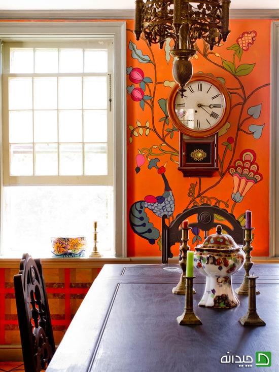 معایب کاغذ دیواری, مزایا کاغذ دیواری, کاغذدیواری, کاغذ دیواری و رنگ, رنگ کردن دیوار   wall-decor, wall-decor-blog   دکوراسیون ساختمان دکوروز