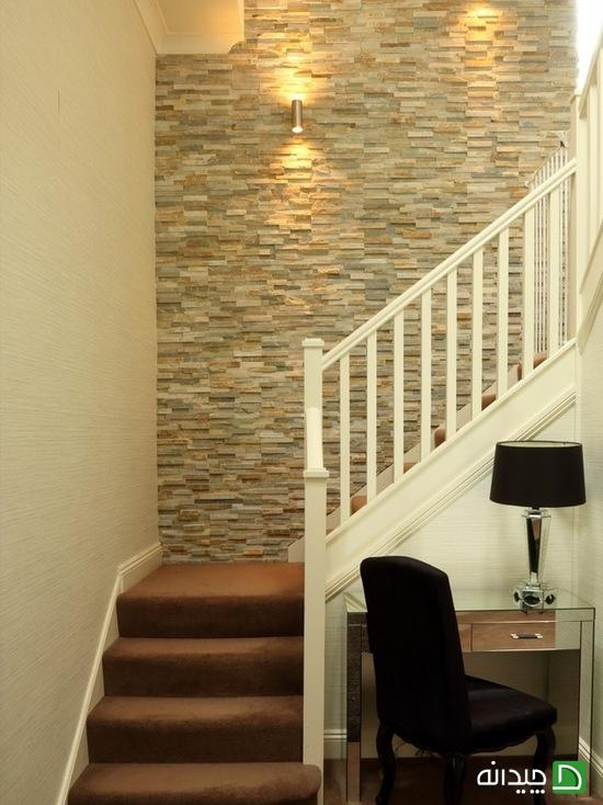 نورپردازی راه پله, کاغذ دیواری راه پله, دکوراسیون راه پله, تزیین راه پله, تزیین دیوار راه پله, تزیین دیوار | wall-decor, wall-decor-blog | دکوراسیون ساختمان دکوروز