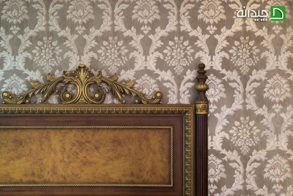 کاغذ دیواری کلاسیک, کاغذ دیواری, دیوارپوش, دکوراسیون کلاسیک, پارکت لمینت و کاغذ دیواری   wall-decor, wall-decor-blog   دکوراسیون ساختمان دکوروز