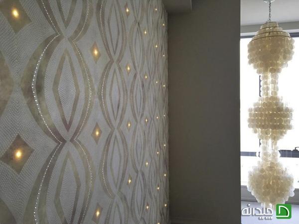 کاغذ دیواری نورانی, کاغذ دیواری مدرن, کاغذ دیواری | wall-decor, wall-decor-blog | دکوراسیون ساختمان دکوروز