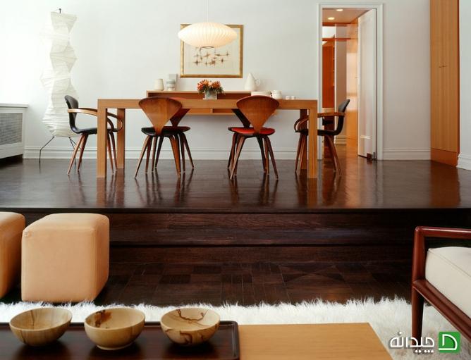 کفپوش و مبلمان, کفپوش و قالیچه, کفپوش و فرش, کفپوش چوبی, کفپوش تیره, کفپوش, کف آشپزخانه, رنگ کفپوش | floor-decor, floor-decor-blog | دکوراسیون ساختمان دکوروز