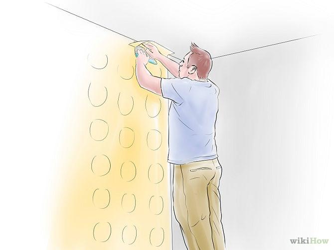 نصب کاغذ دیواری روی دیوار, نصب کاغذ دیواری, سمباده دیوار, چسباندن کاغذ دیواری, چسب کاغذ دیواری, برش کاغذ دیواری | wall-decor, wall-decor-blog | دکوراسیون ساختمان دکوروز