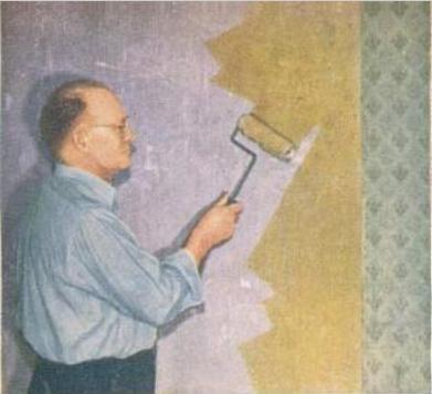 نصب کاغذ دیواری, کاغذ دیواری کمد, کاغذ دیواری کتابخانه, کاغذ دیواری, چسباندن کاغذ دیواری, آماده سازی دیوار | wall-decor, wall-decor-blog | دکوراسیون ساختمان دکوروز