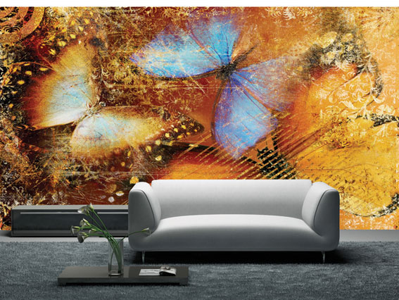 کاغذ دیواری گل دار, کاغذ دیواری پوستری منظره, کاغذ دیواری پوستری طبیعت, کاغذ دیواری پوستری, کاغذ دیواری   wall-decor, wall-decor-blog   دکوراسیون ساختمان دکوروز