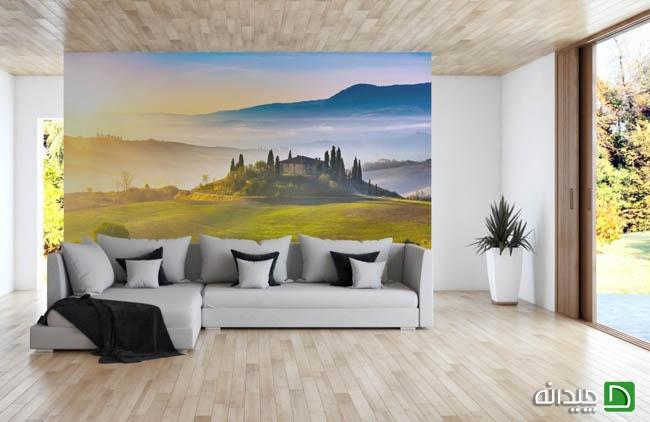 کاغذ دیواری پوستری منظره, کاغذ دیواری پوستری طبیعت, کاغذ دیواری پوستری, کاغذ دیواری, عکس کاغذ دیواری پوستری, انواع کاغذ دیواری پوستری | wall-decor, wall-decor-blog | دکوراسیون ساختمان دکوروز
