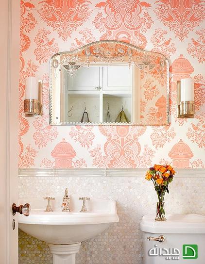 کاغذ دیواری و سرویس بهداشتی, کاغذ دیواری, عکس کاغذ دیواری, دکوراسیون کاغذ دیواری | wall-decor, wall-decor-blog | دکوراسیون ساختمان دکوروز