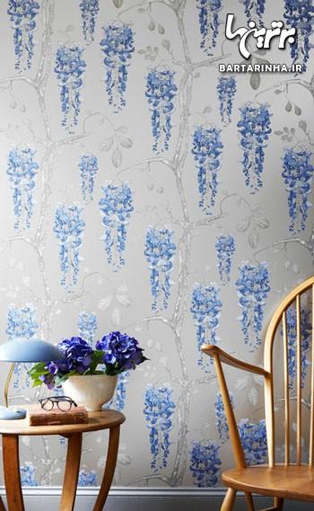 کاغذ دیواری گلدار, کاغذ دیواری شاد, کاغذ دیواری, طرح کاغذ دیواری, رنگ کاغذ دیواری, دکوراسیون کاغذ دیواری, انتخاب کاغذ دیواری   wall-decor, wall-decor-blog   دکوراسیون ساختمان دکوروز