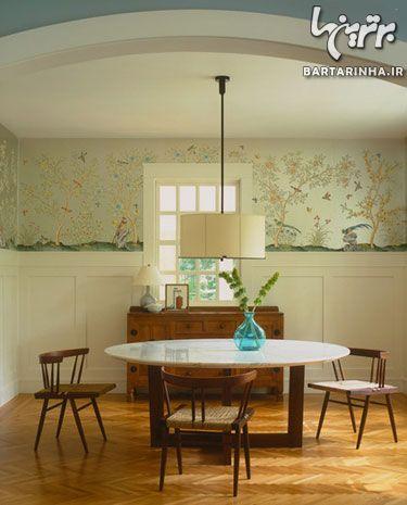 کاغذ دیواری و مبلمان, کاغذ دیواری مدرن, کاغذ دیواری قدیمی, کاغذ دیواری طرح چینی | wall-decor, wall-decor-blog | دکوراسیون ساختمان دکوروز