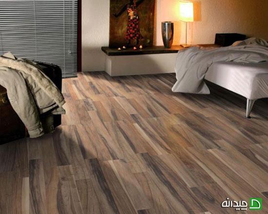 کفپوش چوبی, کاغذ دیواری اتاق خواب, رنگ مبلمان, رنگ آمیزی سقف اتاق خواب, رنگ آمیزی اتاق خواب, ترکیب رنگ اتاق خواب | wall-decor, wall-decor-blog | دکوراسیون ساختمان دکوروز
