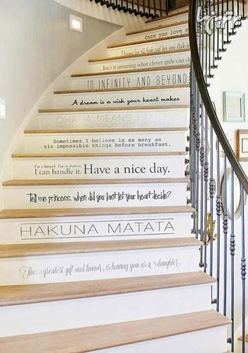 کاغذ دیواری راه پله, کاغذ دیواری دیوار پله, کاغذ دیواری, آلبوم کاغذ دیواری | wall-decor, wall-decor-blog | دکوراسیون ساختمان دکوروز